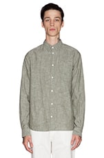 Anton Chambray Button Down in Cedar