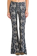 NOVELLA ROYALE Janis Wide leg Pant in Chantilly