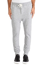 Colby Sweatpant in Heather Grey