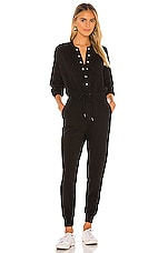 NSF Dixie Baseball Jumpsuit in Black