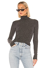 NSF Jaqui Slim Turtleneck in Black