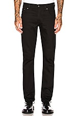 Nudie Jeans Grim Tim in Dry Cold Black