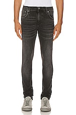 Nudie Jeans Tight Terry in Black Treats