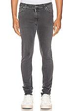 Nudie Jeans Skinny Lin in Concrete Grey