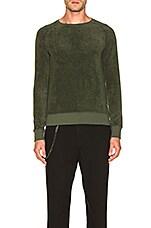 Nudie Jeans Samuel Terry Sweatshirt in Lawn