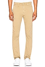 Nudie Jeans Slim Adam Pant in Beige