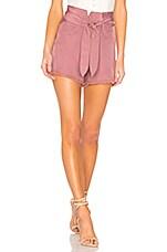 Nanushka Agape Shorts in Grape