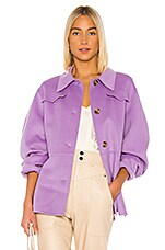Nanushka Adut Coat in Lilac