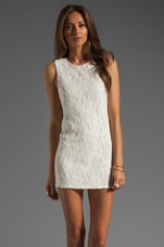 Naven Twiggy Dress in Ivory Lace