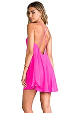 Naven Babydoll Dress in Pop Pink