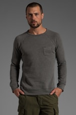Lofty Creature Comforts Crew in Heather Grey