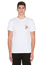 Confident Floral Tee in White