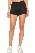 Saloon Short in Black