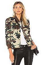 Obey Mercy Jacket in Camo