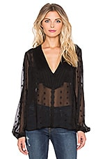 Blood Moon Blouse en Noir