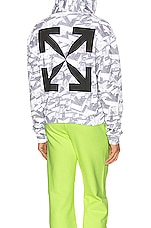 OFF-WHITE Arrows Pattern Over Hoodie in All Over