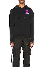 OFF-WHITE EXCLUSIVE Hooded Sweatshirt in Black