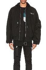 OFF-WHITE Vintage Bomber Jacket in Black & White