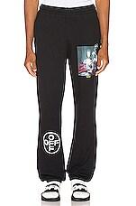 OFF-WHITE Marian De Silva Sweatpants in Black Multi