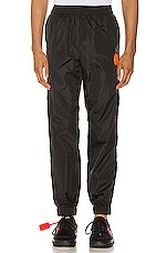OFF-WHITE Trackpant in Black