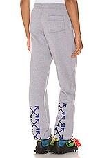 OFF-WHITE Acrylic Arrows Sweatpants in Grey