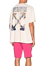 OFF-WHITE Colored Arrows Tee in Off White & Multi