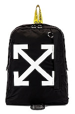 OFF-WHITE Easy Backpack in Black & White