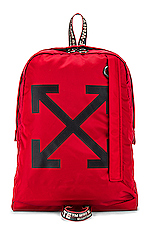 OFF-WHITE Easy Backpack in Red & Black