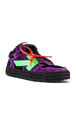 OFF-WHITE Off Court Low in Violet & Green
