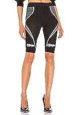 OFF-WHITE Active Biker Short in Black
