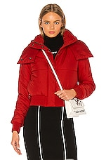 OFF-WHITE Down Jacket in Red