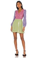 Olivia Rubin Meg Dress in Dash Print Mix