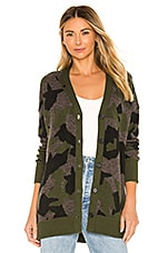 One Grey Day X REVOLVE Jessie Camo Cardi in Camo & Grey Combo