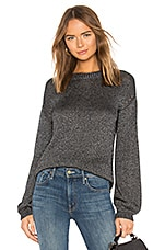 One Grey Day Naomi Sweater in Carbon