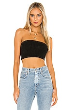 One Grey Day X REVOLVE Cass Bandeau Top in Black