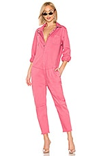 One Teaspoon Paradise Utility Jumpsuit in Pink