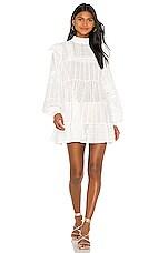 One Teaspoon Ritual Cotton Dress in White