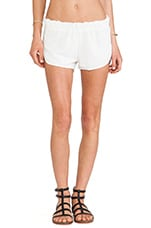 Wagoneer Running Shorts in Cream