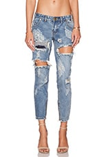 JEAN CROPPED DUSTY FREEBIRD