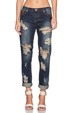 JEAN CROPPED TIGER AWESOME BAGGIES