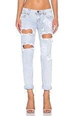 JEAN BOYFRIEND DESTROYED DENIM AWESOME BAGGIES