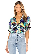 One Teaspoon Hawaiian Shirt in Hawaiian Print