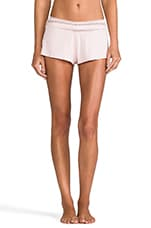 Eyelet Sleep Shorts in Pink