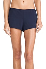 So Fine Lace Sleep Shorts in Navy
