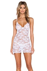 Summer Song Chemise & G Sring Set in White
