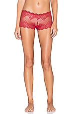 So Fine Lace Hipster en Grenat