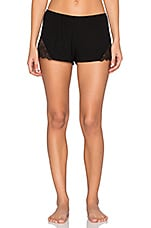 So Fine with Lace Sleep Shorts in Black