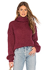 one on one Adorable Sweater in Dusty Red