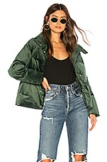 ON PARLE DE VOUS Igloo Jacket in Vert Foret
