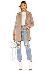 ON PARLE DE VOUS Karen Wool Coat in Beige